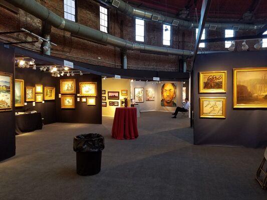 Boston International Fine Art Show, installation view