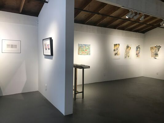 In Between Shows: Works On Paper, installation view