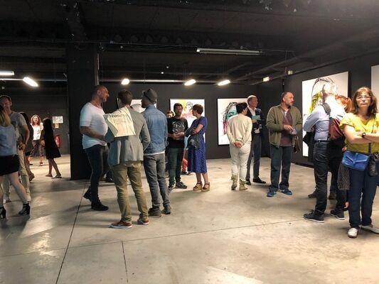 PRIMITIF - Solo Show Søcø à la Condition Publique, installation view