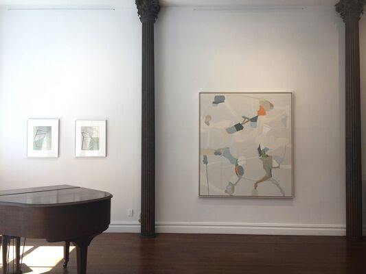 Group Exhibition Featuring Carrie Johnson, Gordon Moore and Kazimira Rachfal, installation view