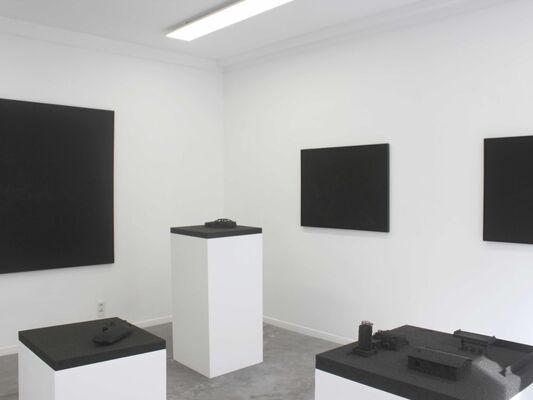 THE AESTHETICS OF CHAOS, installation view