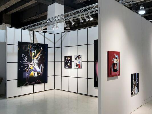 Diablo Rosso at NADA New York 2018, installation view