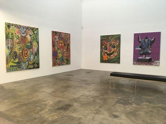 DAVID GRIGGS : Meditation Sex Music, installation view
