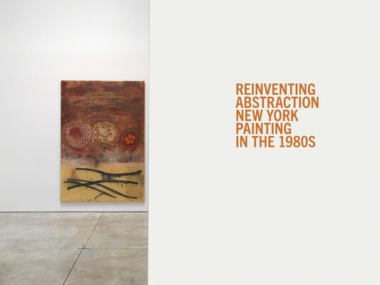 Reinventing Abstraction: New York Painting in the 1980s curated by Raphael Rubinstein, installation view