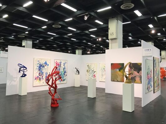 David Achenbach Projects at Cologne Fine Art 2016, installation view