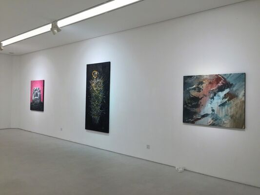 Visions from Above II - Philip Mantofa Solo Exhibition, Shanghai《屬天視界 II》- 腓力‧曼都法 上海個展, installation view