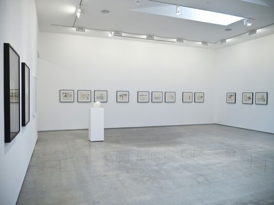 Patrick Angus, Looking, installation view
