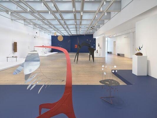 Calder: Hypermobility, installation view