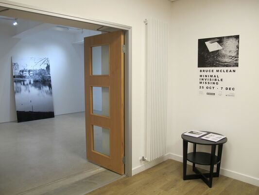 Bruce McLean MINIMAL INVISIBLE MISSING, installation view