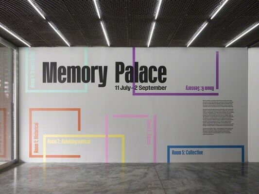 Memory Palace, installation view