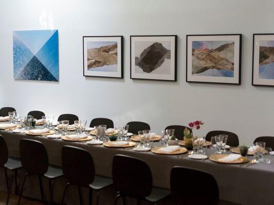 Reza Nadji: Inter/sectual, installation view