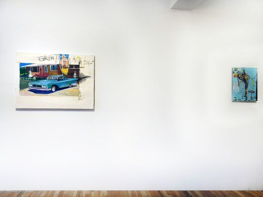 Regrouping, installation view