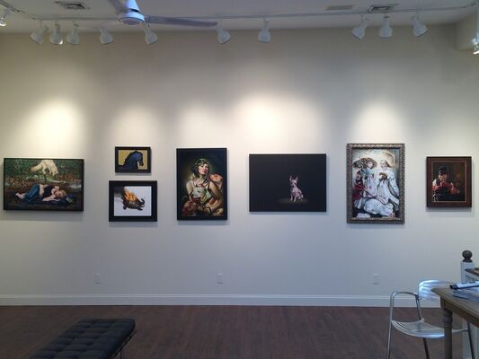 A Magic Menagerie, installation view