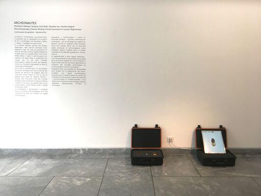 ARCHEONAUTS, installation view