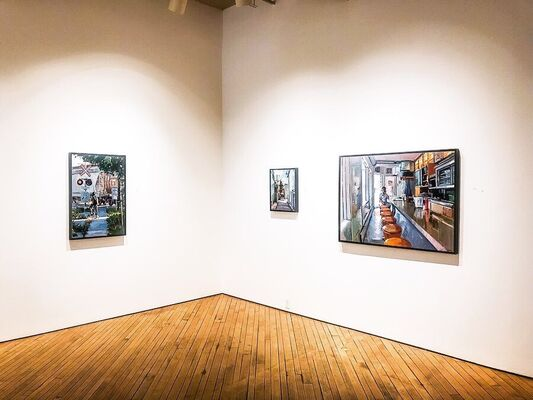 Brian Harvey: In Passing, installation view