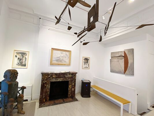Spanning Modernism: From Matta to Marisol, installation view