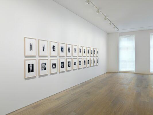 Sherrie Levine: African Masks After Walker Evans, installation view