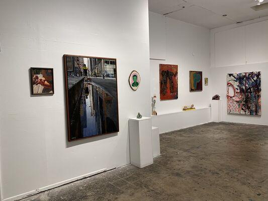 Intergalactic Open, installation view