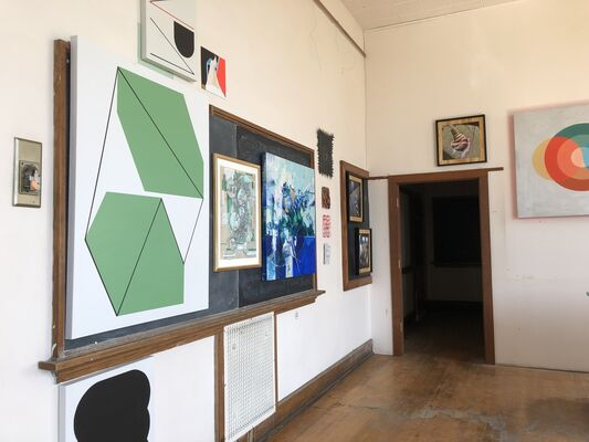 The PLAY/GROUND Gallery, installation view