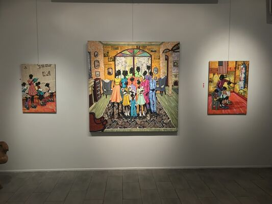 Working Together, installation view