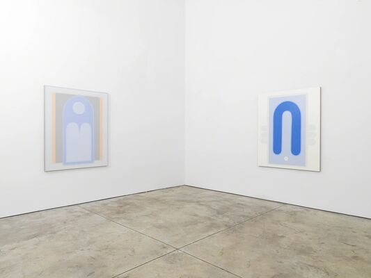 All over the moon: Laurel Sparks, Lily Stockman, Richard Tinkler. Curated by Jack Pierson, installation view
