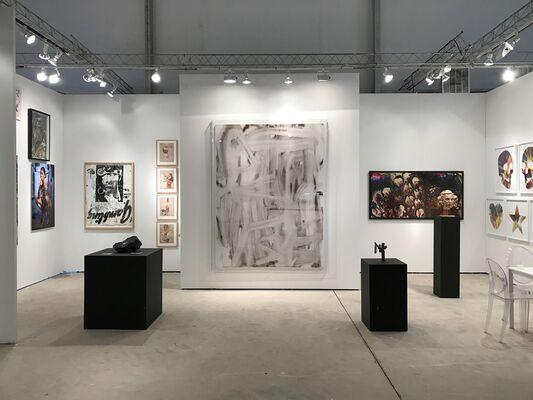 RUDOLF BUDJA GALLERY at Art Miami 2018, installation view