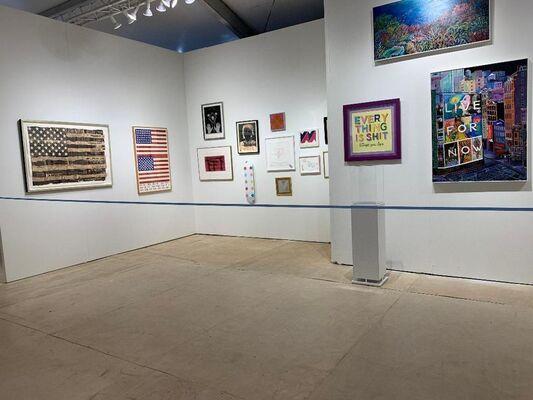 Alpha 137 Gallery at Market Art + Design 2019, installation view