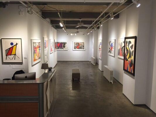 Alexander Calder: Sharing Negative Space, installation view