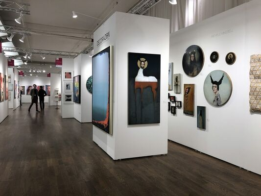 DECORAZONgallery at Affordable Art Fair New York Spring 2019, installation view