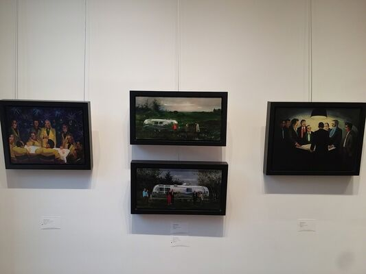 Michael Harrington, installation view