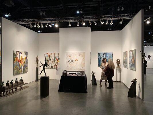 Anquins Galeria at LA Art Show 2020, installation view