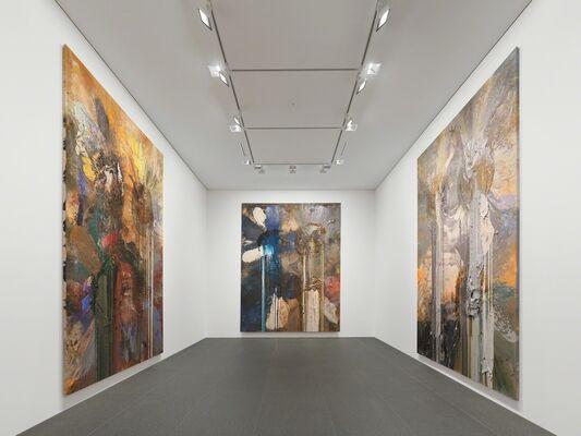 John Armleder 'Pantan', installation view