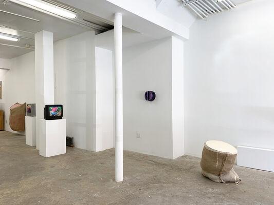 TRITTBRETTFAHRER, installation view