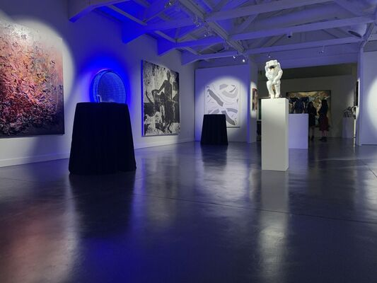 The House of Fine Art at LA Art Show 2019, installation view