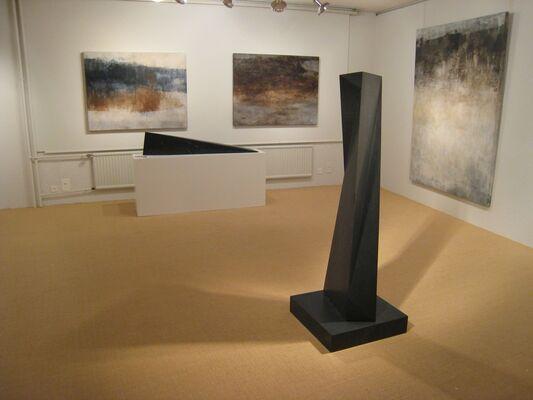Giulio Camagni, Paintings, installation view