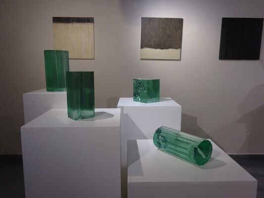 Reflections: Japan/Italy, installation view