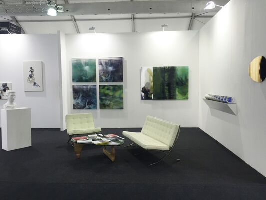 Dominik Mersch Gallery at Art Central 2016, installation view