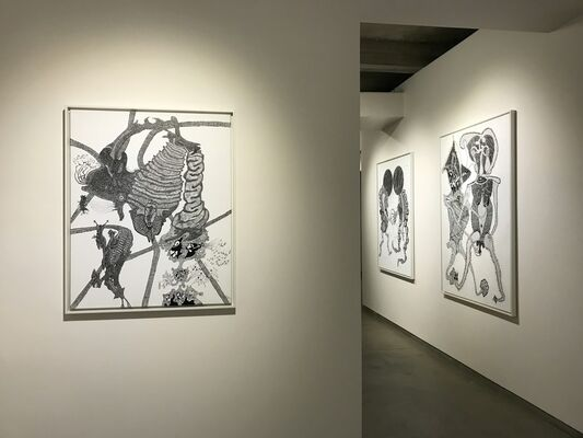 Alfred Neumayr: Mythical Creatures, installation view