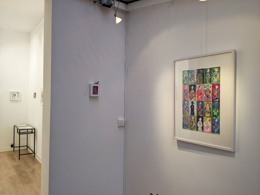 Prelude (Lotte Van De Walle solo show + Koenraad Tinel as guest), installation view