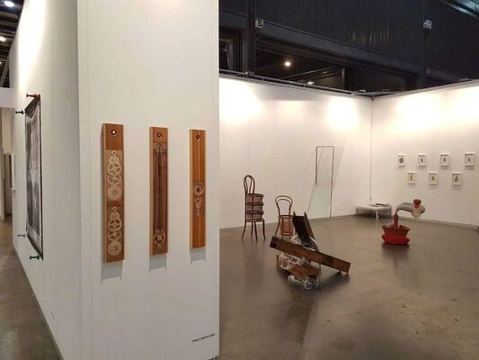 Baró Galeria at arteBA 2018, installation view
