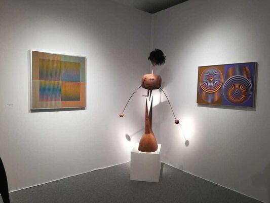 Mark Hachem Gallery at Art Miami 2019, installation view