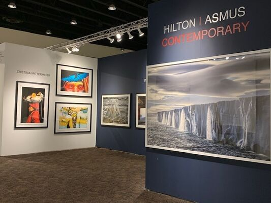 Hilton Asmus at Art Palm Springs 2020, installation view