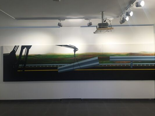 Bypass, installation view