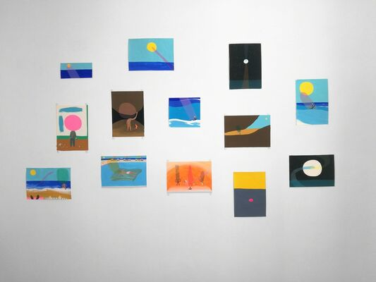 This, that and the Other - Peter McDonald Residency Show, installation view