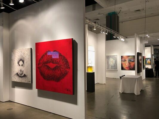 Connect Contemporary at LA Art Show 2019, installation view
