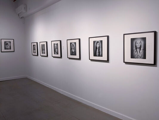 Lazhar Mansouri | Lifting the Veil: Portraits of Berber Women, installation view