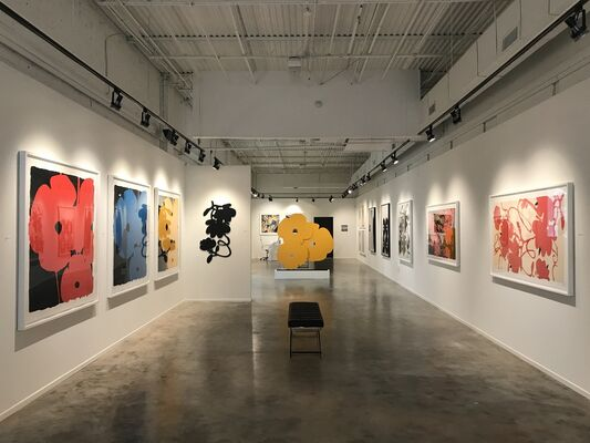 New York in Living Color: Featuring Donald Sultan and other NY artists, installation view