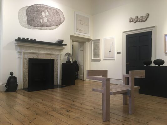 jaggedart at Collect 2021, installation view