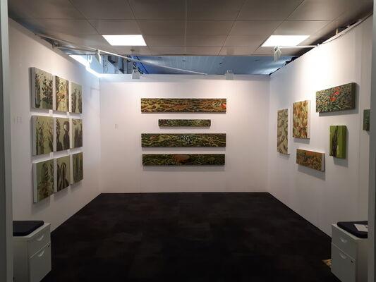 Art Mûr at London Art Fair 2020, installation view