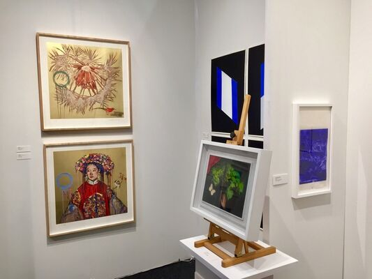 Nancy Hoffman Gallery at Art on Paper New York 2019, installation view